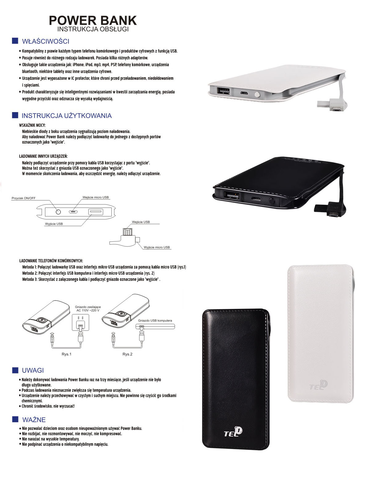 powerbank slim 12000 mAh - citygsm.pl